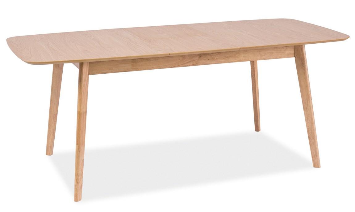Jídelní stůl rozkládací FELICIO, dub 120-150x75 cm