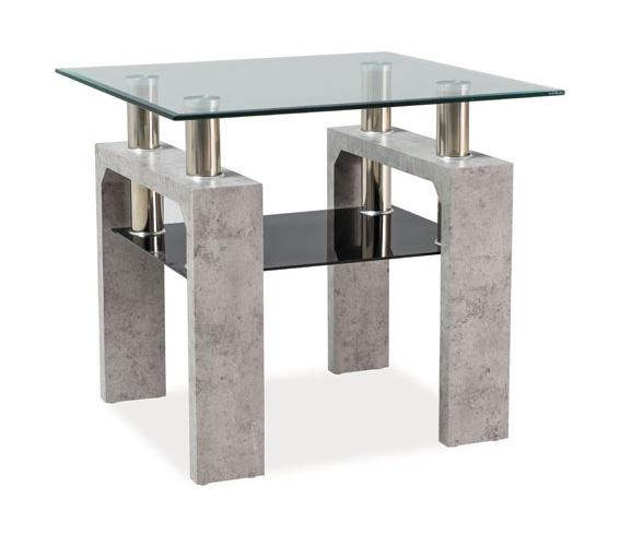 Konferenční stolek LISA D, beton