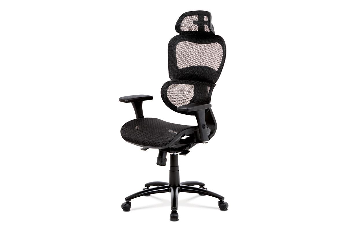 Kancelářská židle ROSULAR, černá