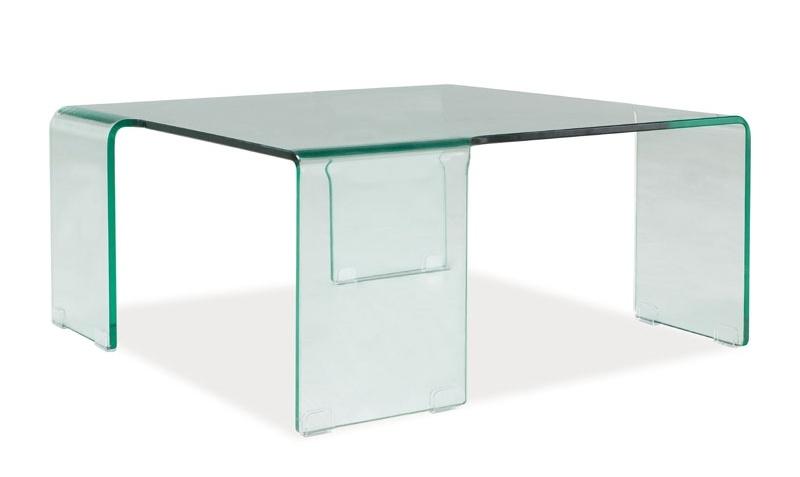 Konferenční stolek RENE, sklo