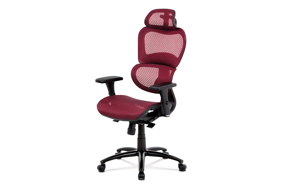 Kancelářská židle ROSULAR, červená
