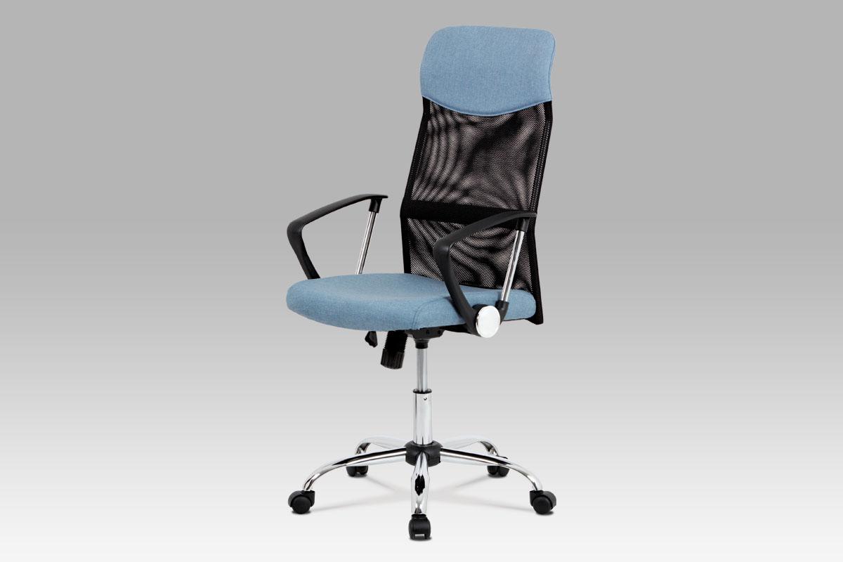 Autronic Kancelářská židle KA-E301 BLUE, modrá