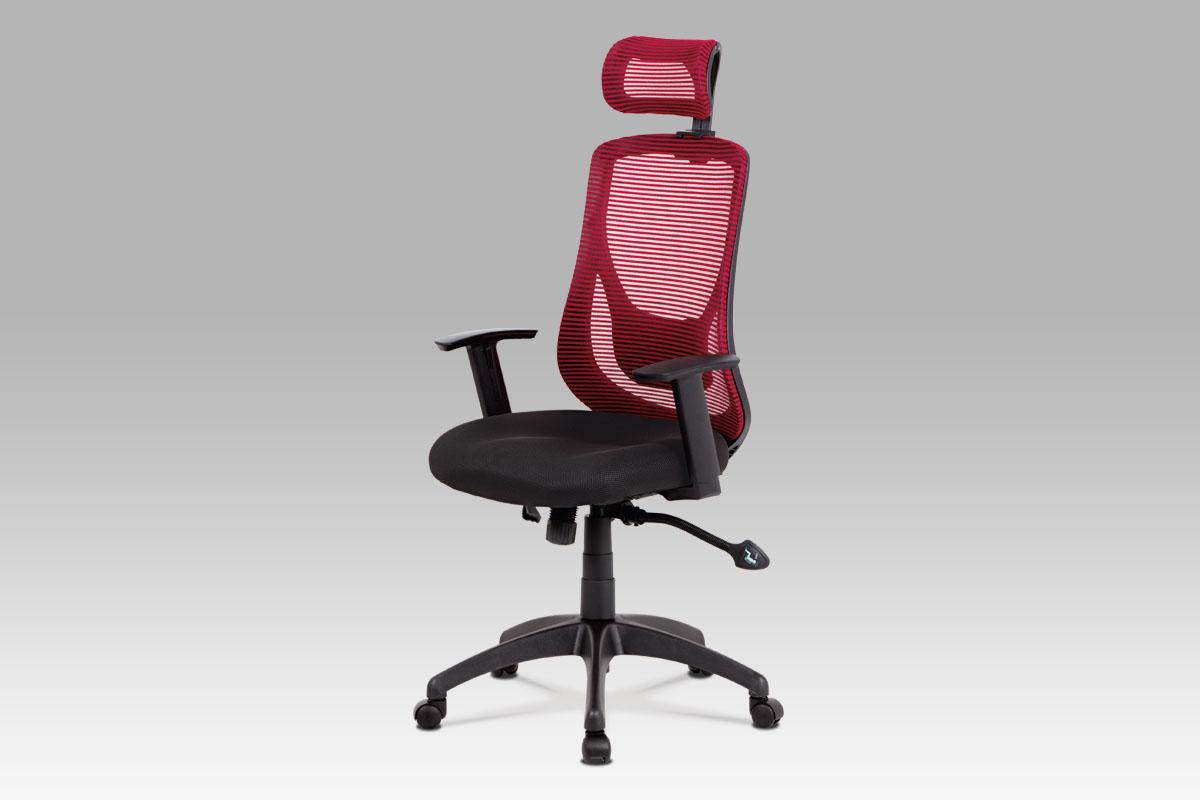 Smartshop Kancelářská židle KA-A186 RED, černá/červená