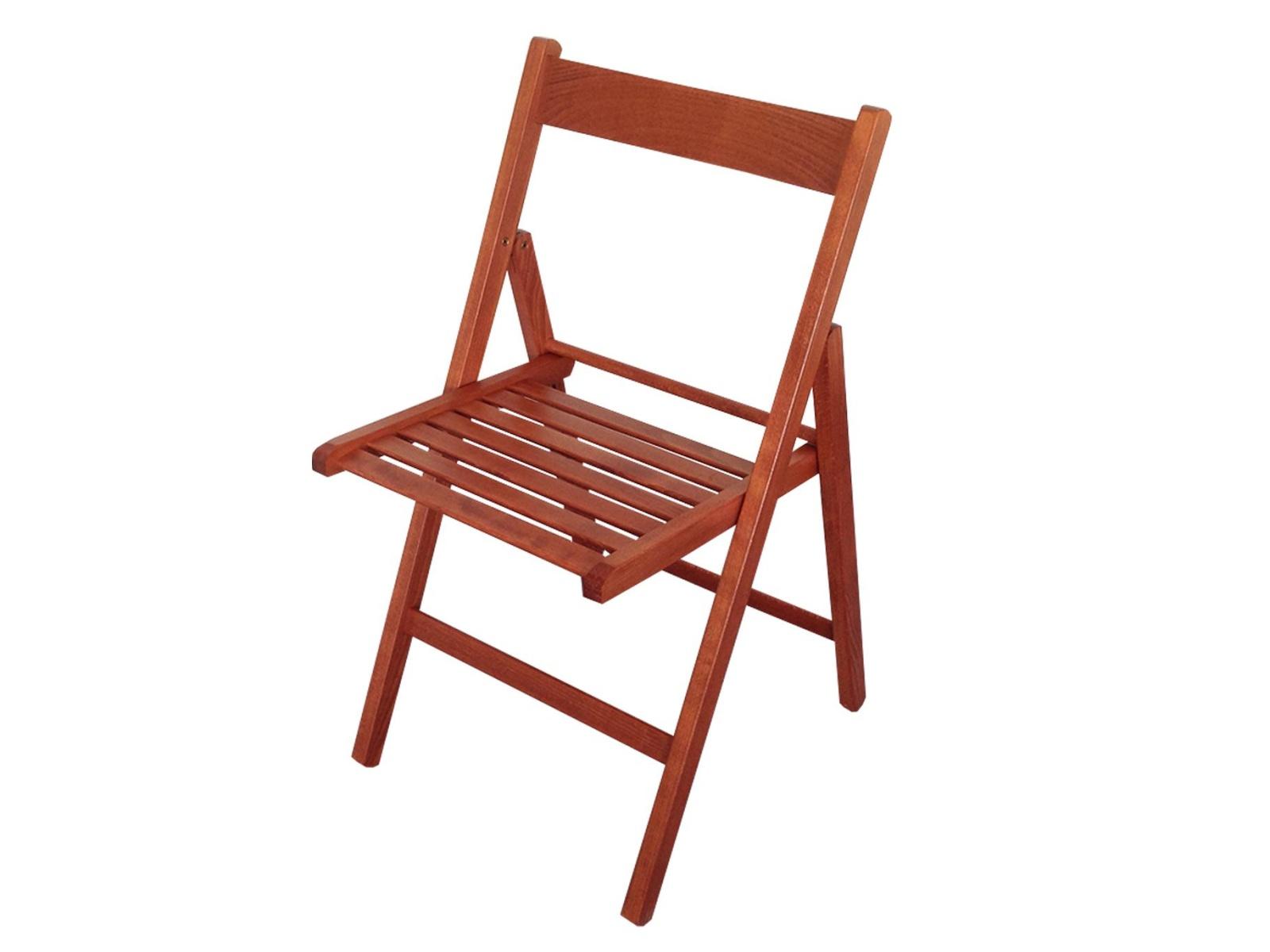 Idea Skládací židle, masiv, provedení třešeň