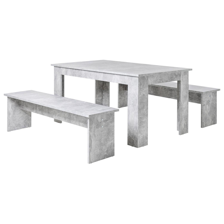 Idea Jídelní sestava MUNCHEN 140, imitace beton