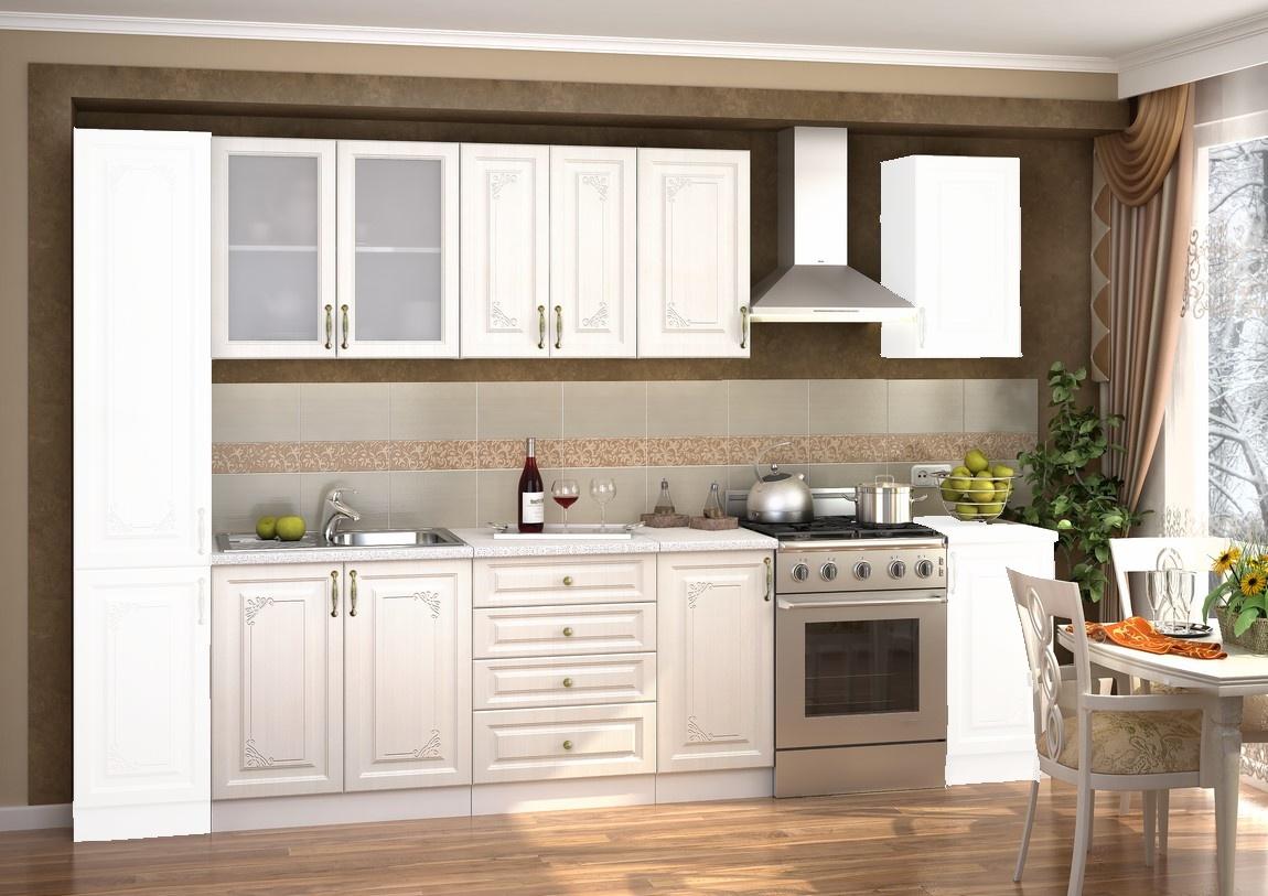 Smartshop Kuchyně VICTORIE 180, bílý santál