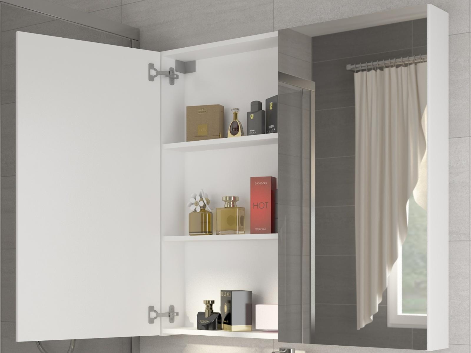 MORAVIA FLAT Koupelnová skříňka DELLA 60 cm, bílá