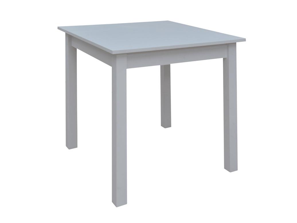 Jídelní stůl PRAKTIK 80x80, bílá