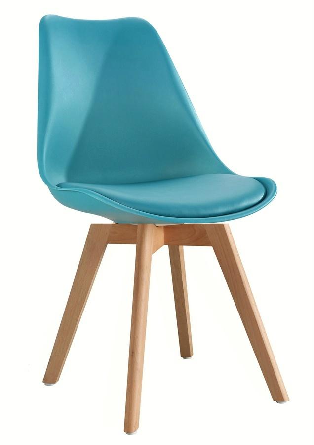 Jídelní židle CROSS, tyrkysová