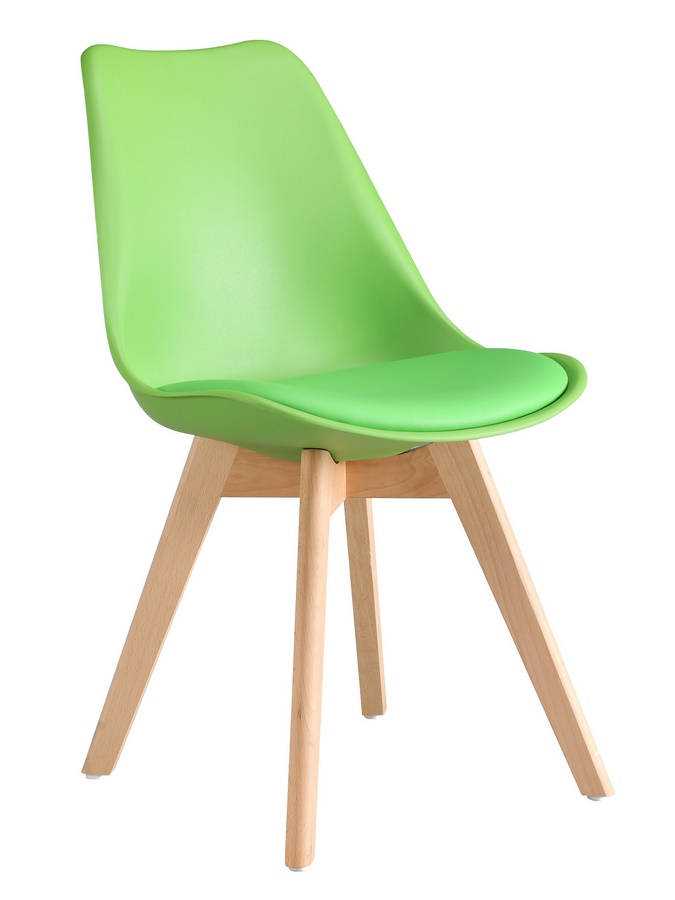 Jídelní židle CROSS, zelená