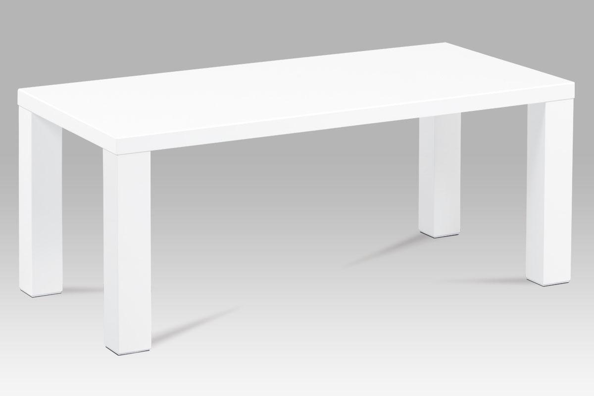 Konferenční stolek AHG-502 WT, bílý lesk