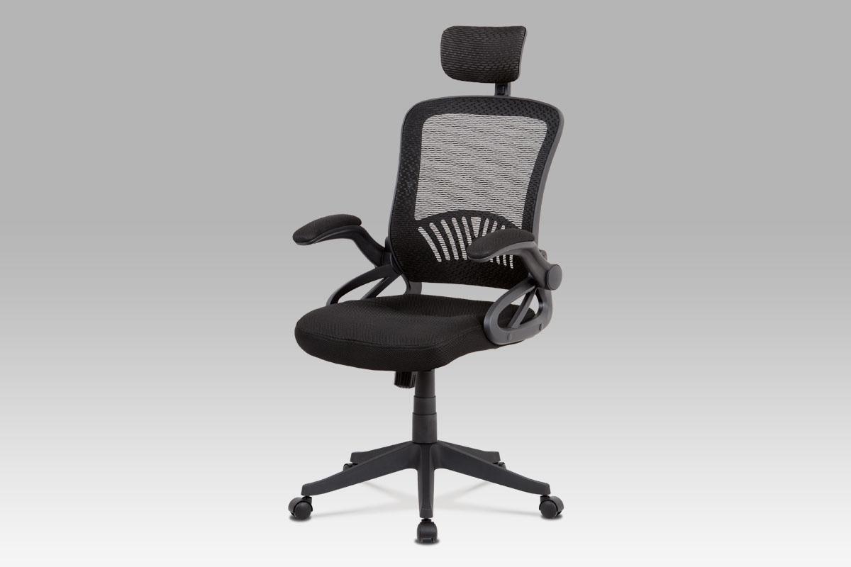 Autronic Kancelářská židle KA-C833 BK, černá