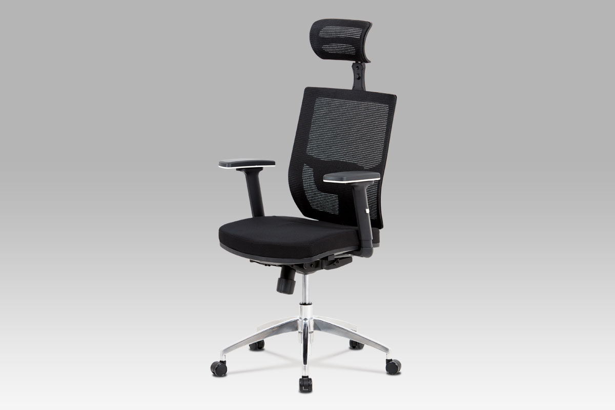 Autronic Kancelářská židle KA-B1083 BK, černá látka