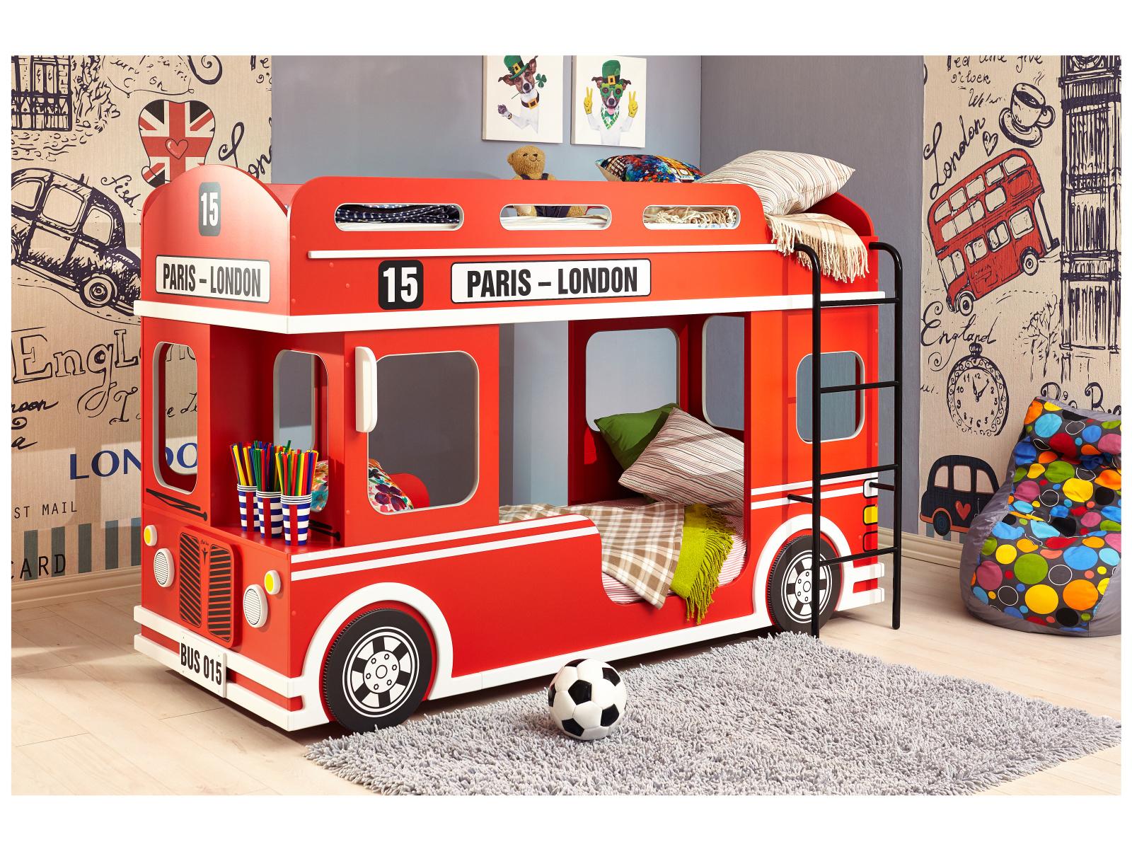 Smartshop Patrová postel LONDON BUS