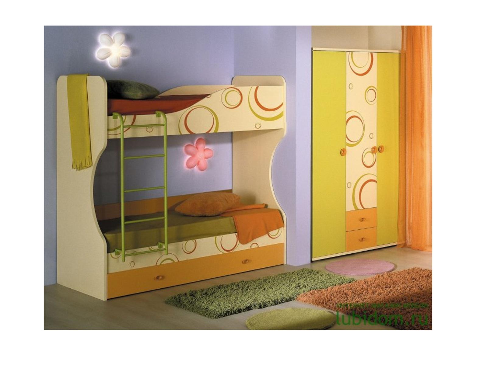 Smartshop Dětský pokoj FRUTTIS, sestava 2