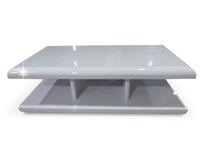 Tempo Kondela KARIM konferenční stolek, bílý lesk