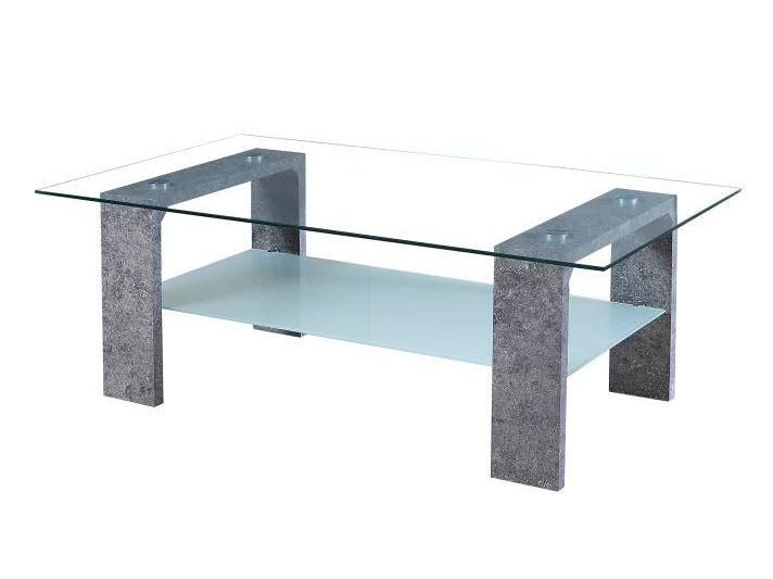 BASU konferenční stolek, sklo/beton