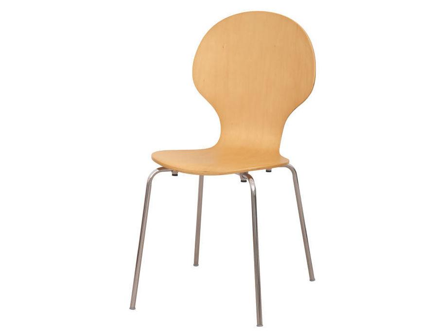 Tempo Kondela MAUI židle z ohýbaného dřeva, přírodní barva