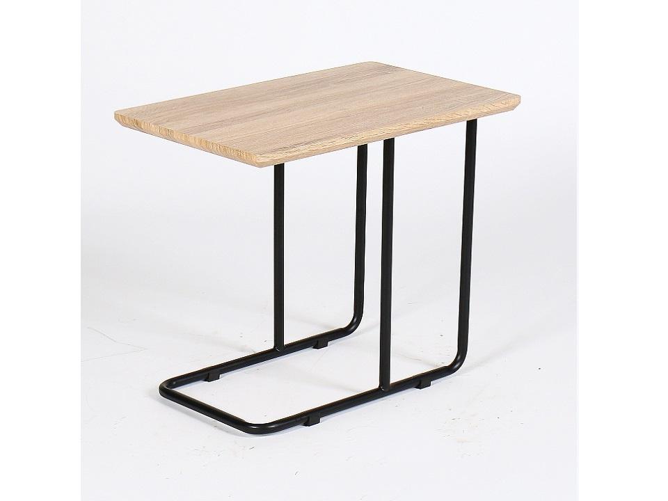 CAMERO odkládací stolek, dub sonoma/černá