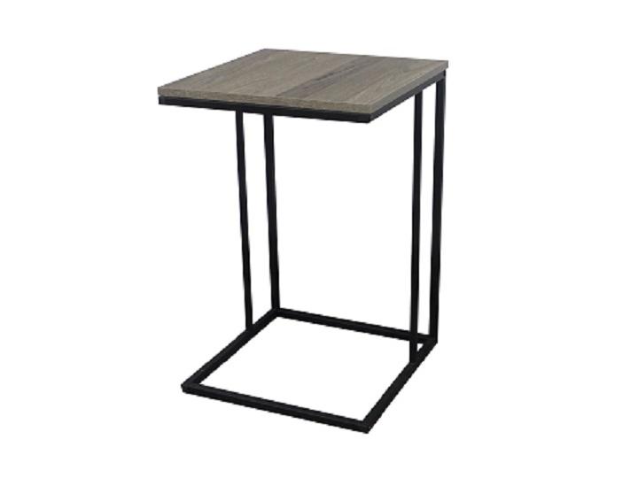 KALA odkládací stolek, dub/černá
