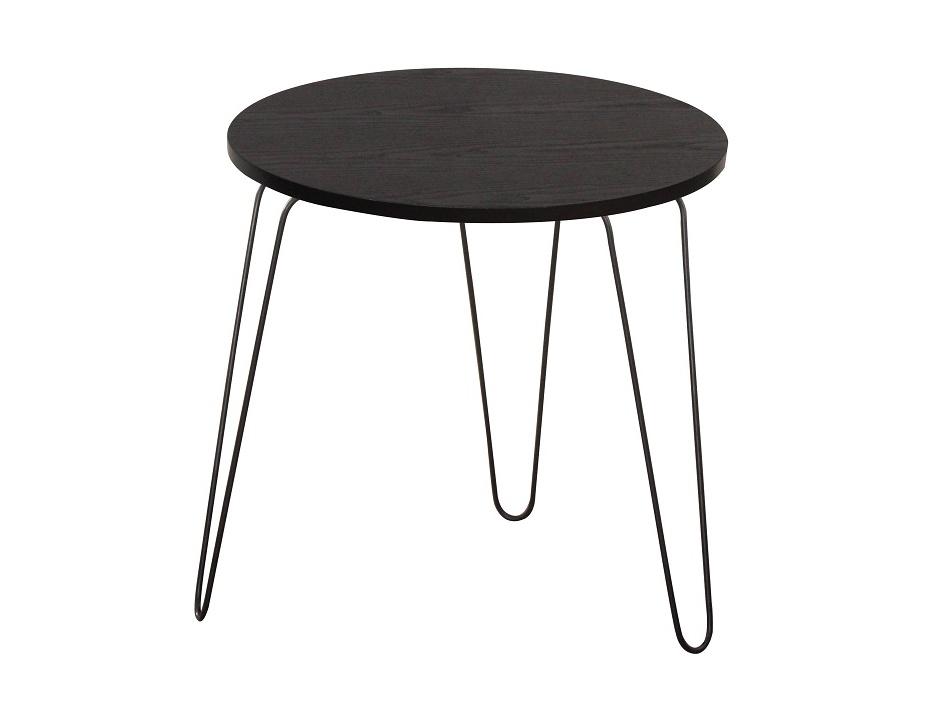 RONIN odkládací stolek, černá