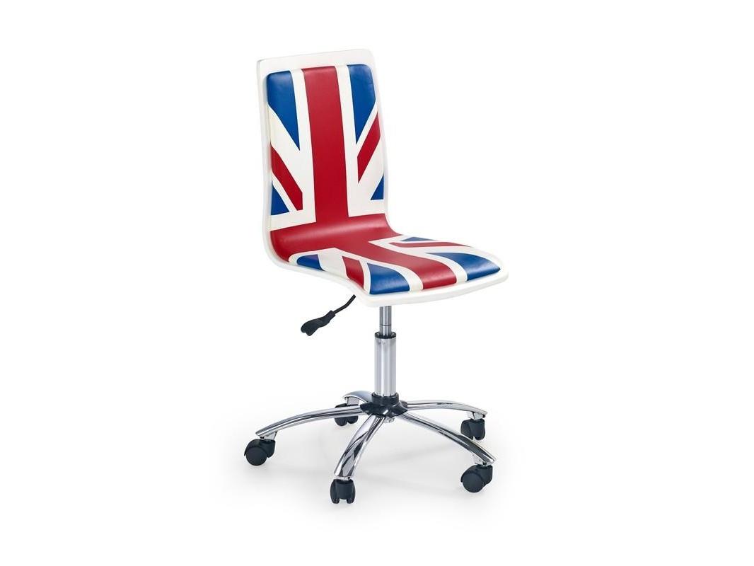 Halmar Dětská židle FUN-10, modrá-červená