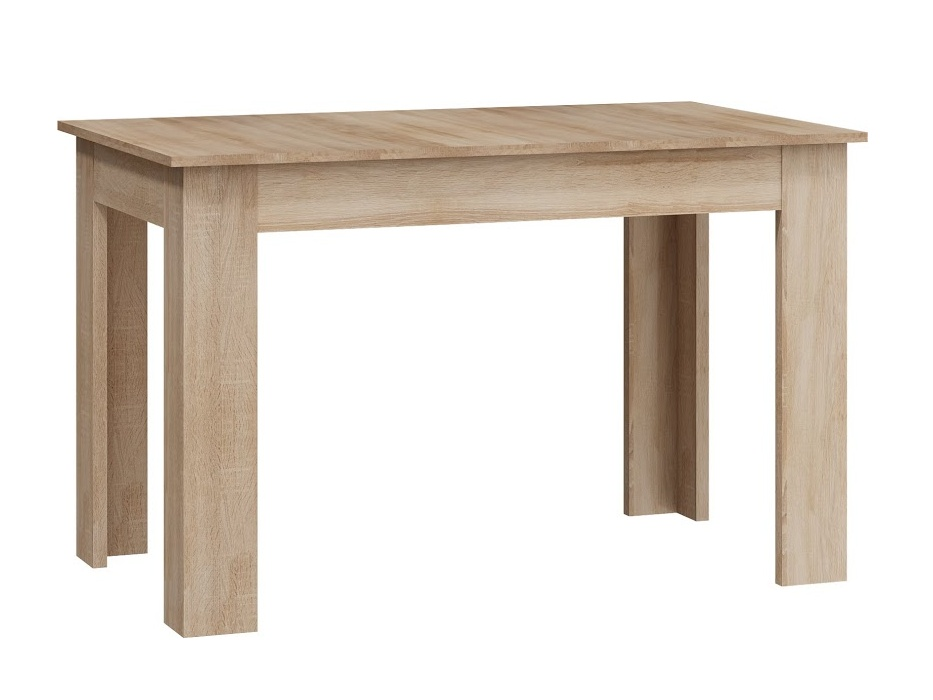 Jídelní stůl 120x70 cm, barva: dub sonoma