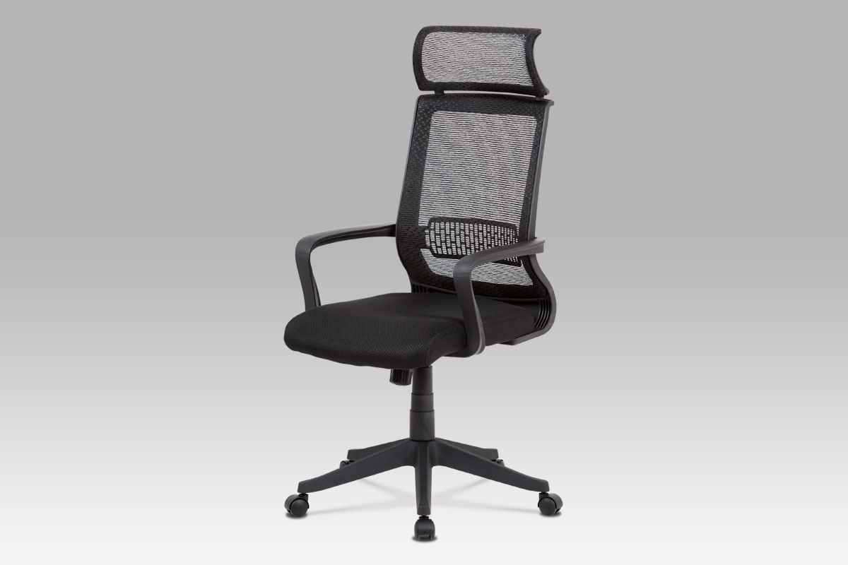Autronic Kancelářská židle KA-C840 BK, černá mesh