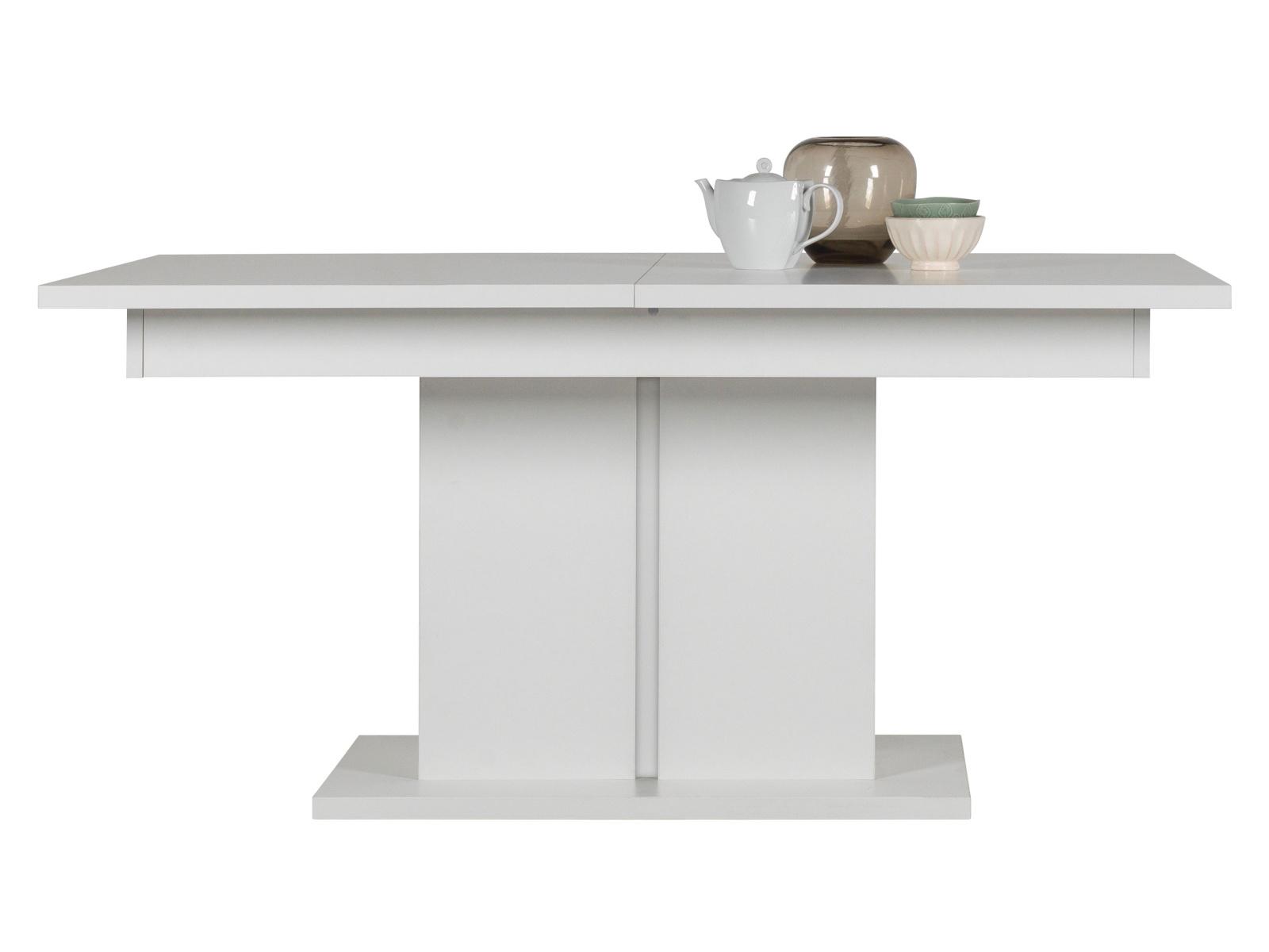 Bog Fran Rozkládací jídelní stůl IRMA IM13, bílý vysoký lesk