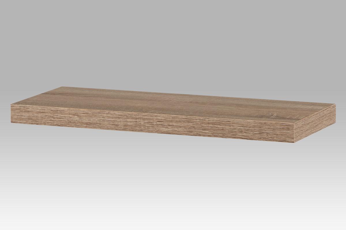 Nástěnná polička 60cm P-001 SON1, dub sonoma