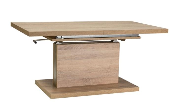 Jídelní/konferenční stůl AMBER rozkládací, dub sonoma