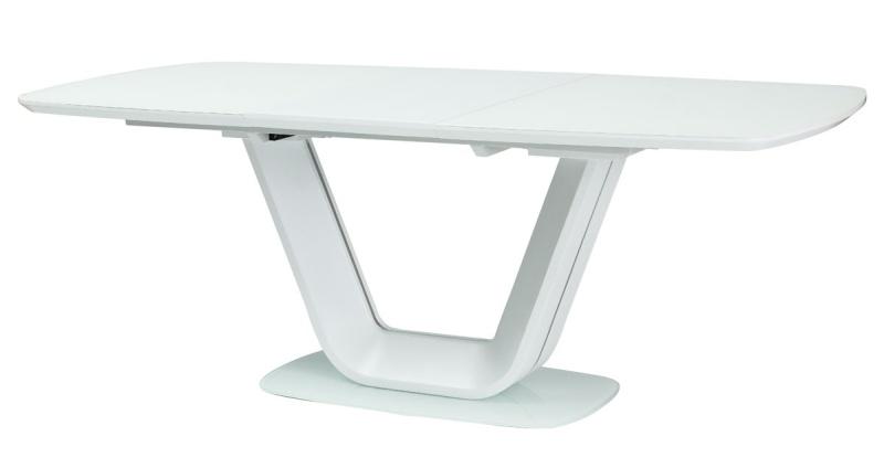 Smartshop Jídelní stůl ARMANI rozkládací, bílý