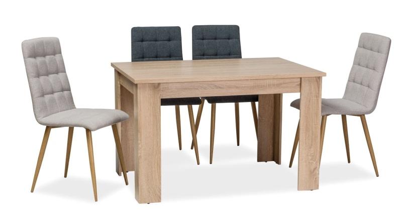 Jídelní stůl AVIS 120x80 cm dub sonoma