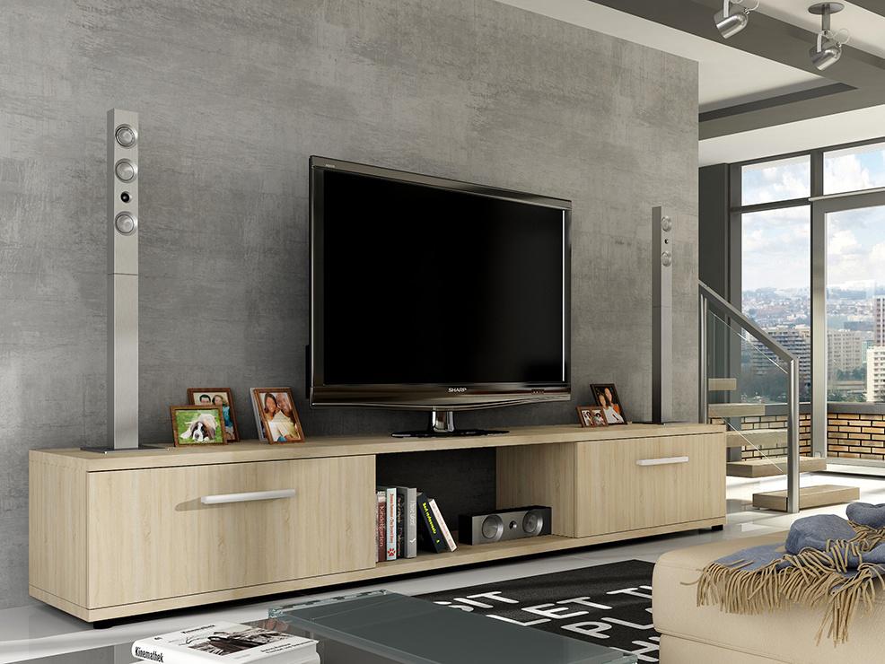 Televizní stolek LOBA RTV, dub sonoma