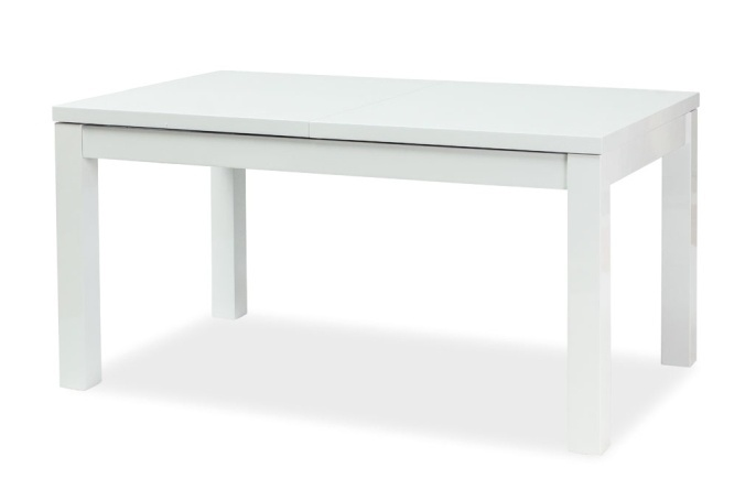 Smartshop Jídelní stůl LIBERI rozkládací, bílý