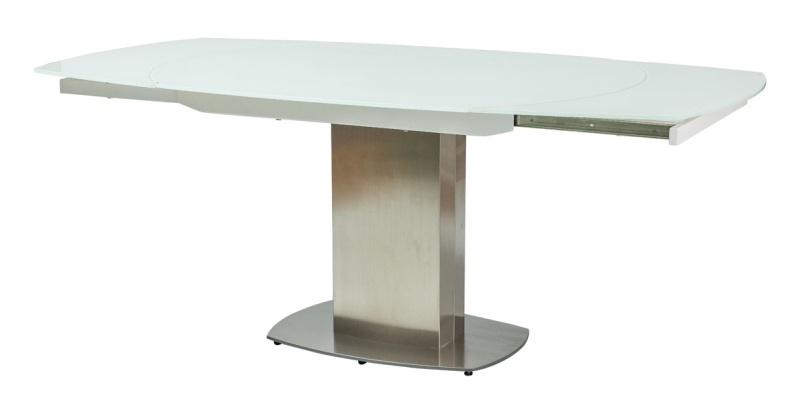 Smartshop Rozkládací jídelní stůl LUCIANO, bílý