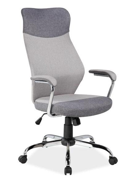 Kancelářské křeslo Q-319, šedá