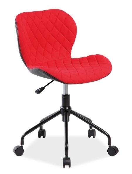 Smartshop Kancelářské křeslo RINO, červená/černá