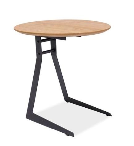 Konferenční stolek VICO, dub/černá