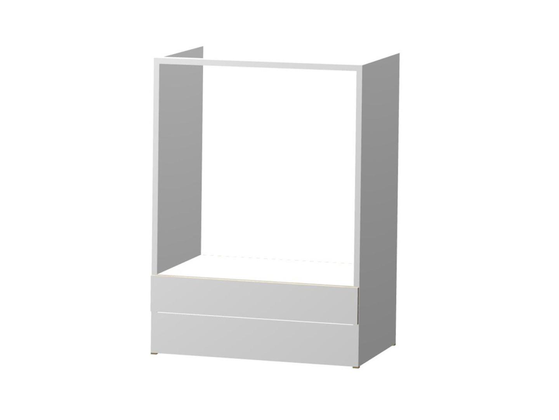 Decodom LENKA dolní skříňka pro vestavnou troubu S 60 ER, korpus bílý/dvířka bílá
