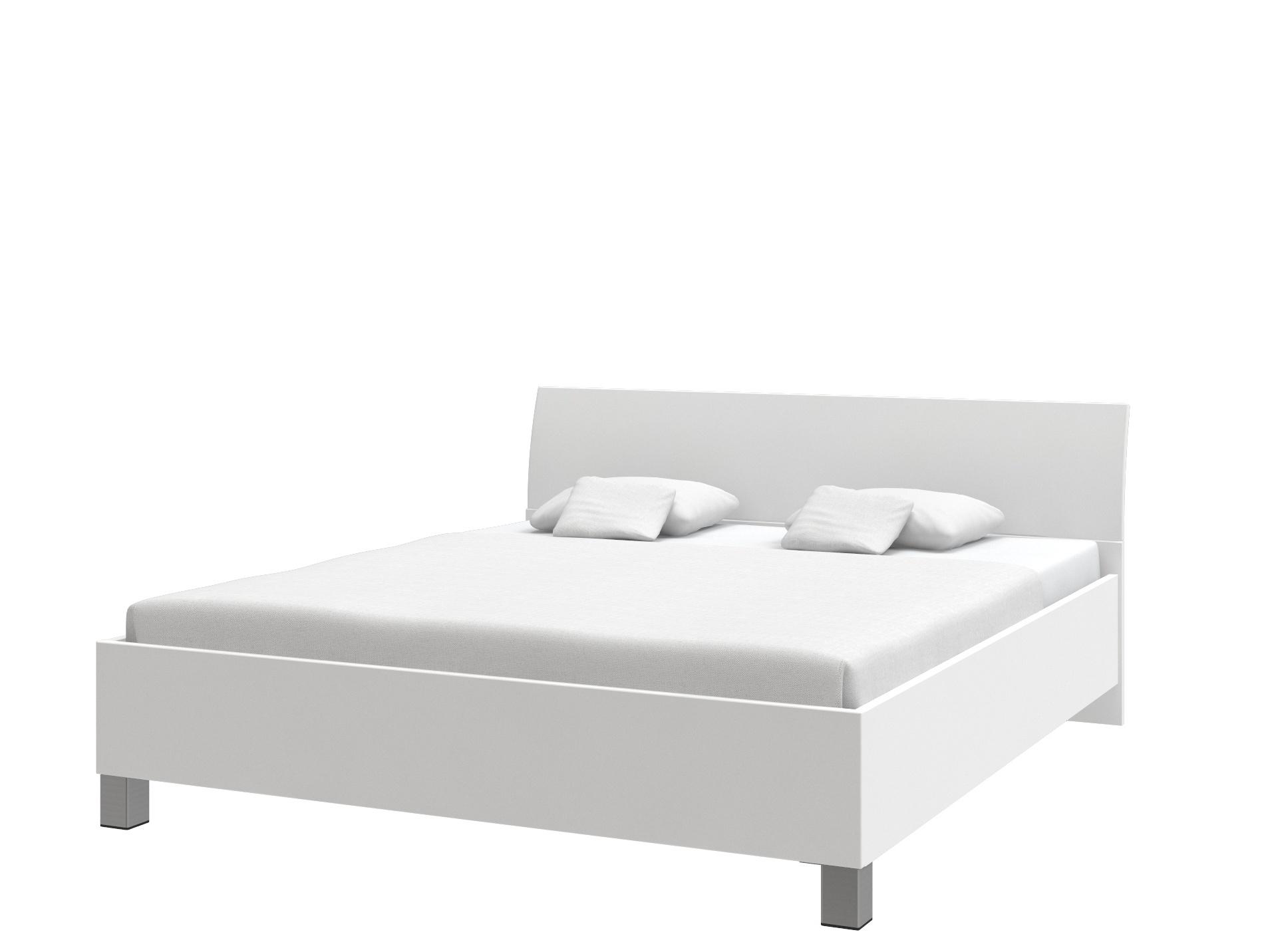 Postel UNO 180x200 cm, bílá arctic