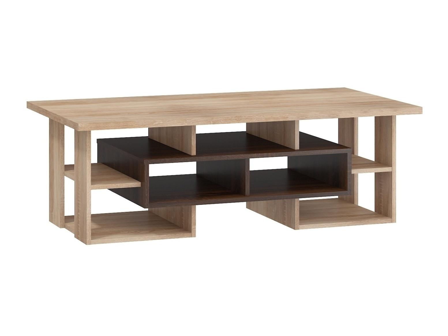 Konferenční stolek DORINDA typ 1, dub sonoma tmavý/dub sonoma, 5 let záruka