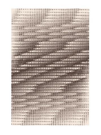 Black Red White SPAR kusový koberec 80x120, imbir, obdélník