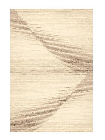 Black Red White MOE kusový koberec 80x120, béžový, obdélník