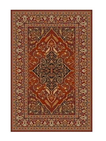 LEYLA kusový koberec 200x300, rubín, obdélník
