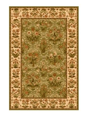 OLANDIA kusový koberec 200x300, olivový, obdélník