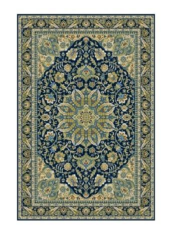 TOPAZ kusový koberec 200x300, granátový, obdélník