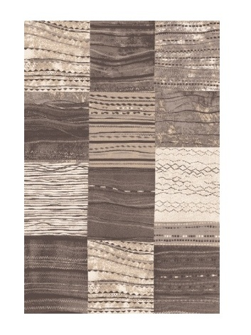 Black Red White MIRENA kusový koberec 80x120, kmínový, obdélník
