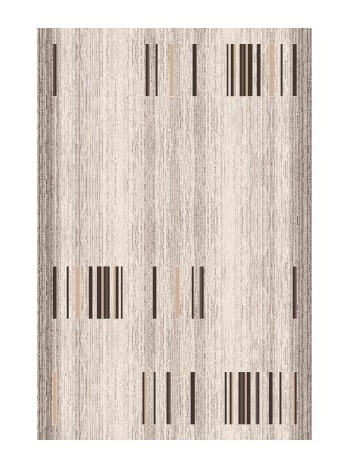 Black Red White BLURAL kusový koberec 120x170, imbir, obdélník