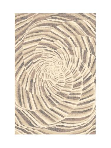 Black Red White JONO kusový koberec 133x180, béžový, obdélník